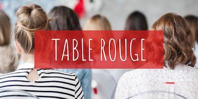 Table rouge  : Découvre le principe de l'écologie menstruel