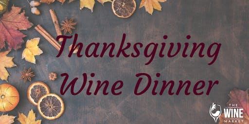 Thanksgiving Wine Dinner