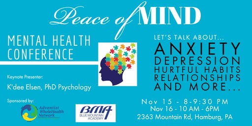 Peace of Mind Mental Health Conference