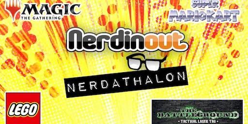 Nerdathalon at NerdinOut