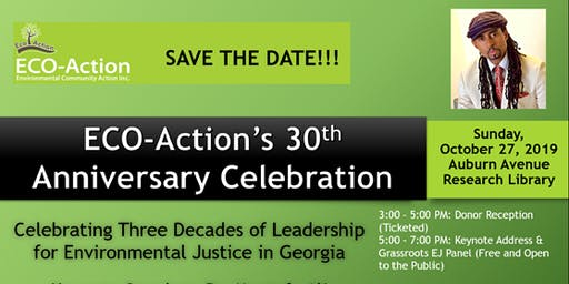 ECO-Action's 30th Anniversary Celebration