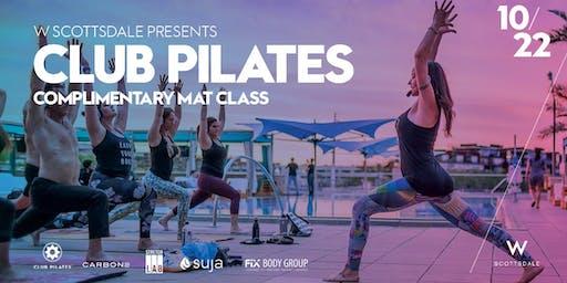 Free Club Pilates Mat Class - 10/22