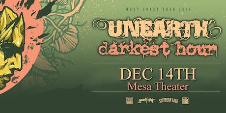Unearth & Darkest Hour tickets