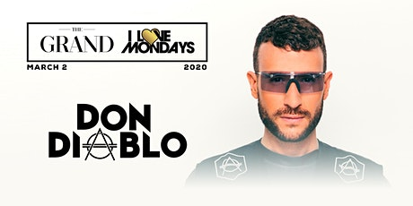 I Love Mondays feat. Don Diablo 3.2.20 tickets