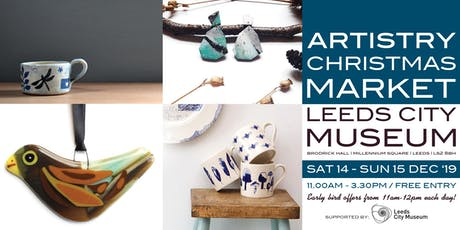 Artistry Christmas Makers Market - December tickets