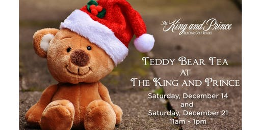 Teddy Bear Tea at The King and Prince  (December 21)