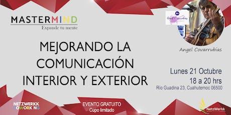 MEJORANDO LA COMUNICACIÓN INTERIOR Y EXTERIOR entradas
