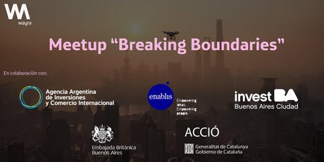 "Meetup ""Breaking Boundaries"" entradas"