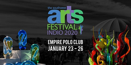 The Southwest Arts Festival® Indio 2020 tickets