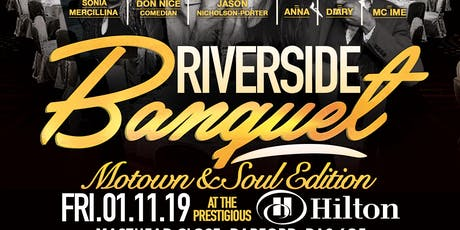 RIVERSIDE BANQUET: Dinner Show and Party tickets