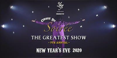 New Year's Eve Cirque du Soirée: The Greatest Show at Lago Custom Events