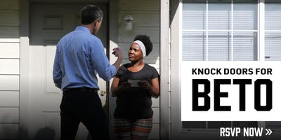 CANVASS FOR PRESIDENTIAL CANDIDATE BETO O'ROURKE   ARLINGTON, TX