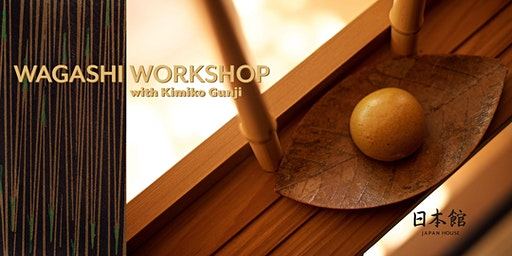 Wagashi Workshop with Kimiko Gunji