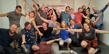 Improv Embassy class shows (Oct 31 - PWYC) tickets