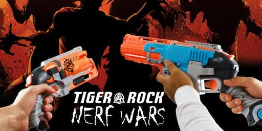 TIGER-ROCK ZOMBIE NERF WARS