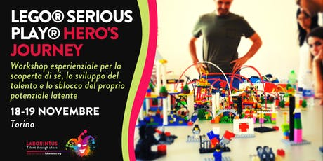LEGO® SERIOUS PLAY® HERO'S JOURNEY biglietti