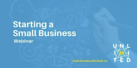Starting a Small Business (Webinar) tickets
