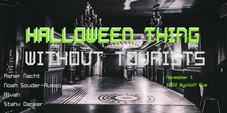 Halloween Party Without Tourists tickets