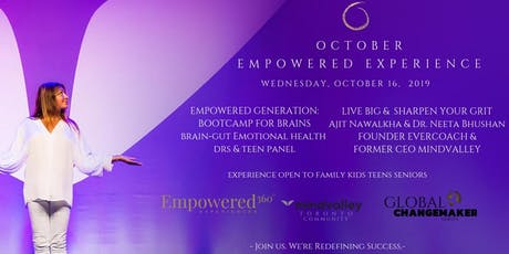 EMPOWERED EXPERIENCE: Bootcamp for Brains ~ Live Big & Sharpen your Emotional Grit! tickets