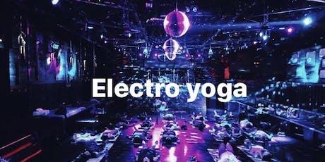 Electro yoga tickets