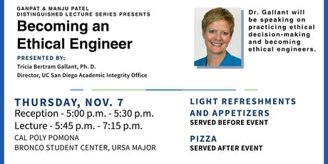 Patel Distinguished Lecture Series: Becoming An Ethical Engineer tickets