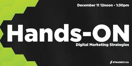 Hands-ON: Digital Marketing Strategies tickets