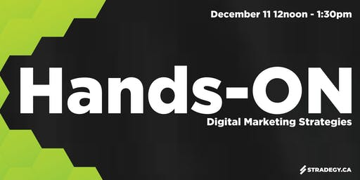 Hands-ON: Digital Marketing Strategies