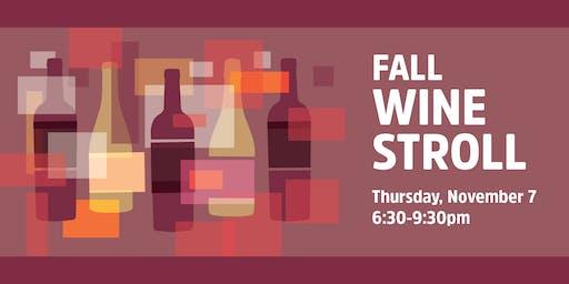 Fall Wine Stroll 2019