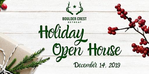 Boulder Crest Holiday Open House