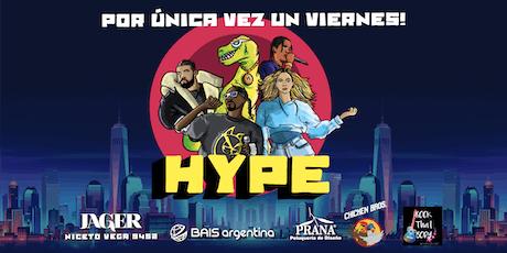 Fiesta Hype! Viernes 8 de noviembre en Jager entradas