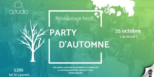 Party d'automne @Oztudio