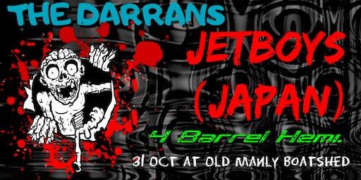 The Jetboys (Japan), The Darrans, 4 Barrel Hemi.