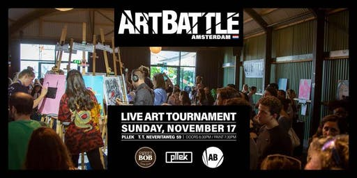 Art Battle Amsterdam - 17 November, 2019