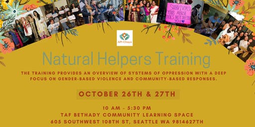 Natural Helpers Training