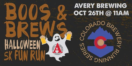 Boos & Brews Halloween 5k - Avery Brewing - Colorado Brewery Running Series tickets