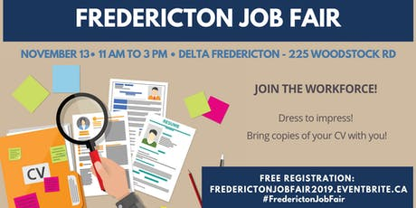 Fredericton Job Fair tickets