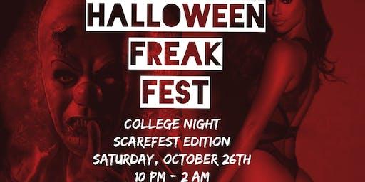 Club LA Halloween Freak fest