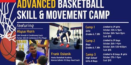 Advanced Basketball Skill & Movement Camp tickets
