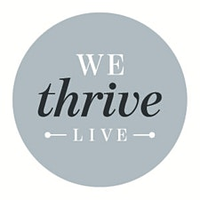 WEthrive.live - Facilitator - Alissa Bartenbach -  CEO Rebecca Fleetwood Hession  logo