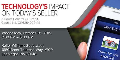 Technology's Impact on Your Real Estate Business 10/30 tickets