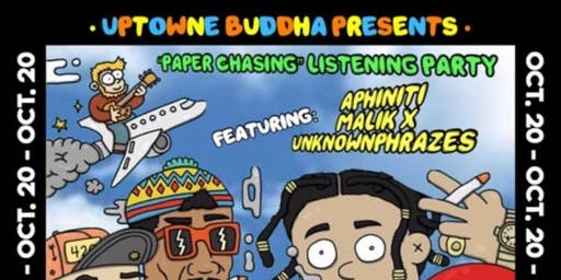 Uptowne  Buddha / Malik X / Unknownphrazes