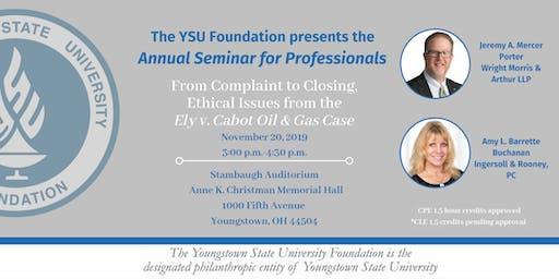Annual Seminar for Professionals