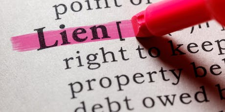 AREAA Lunch N Learn: Tax Lien Sales Part 2 tickets