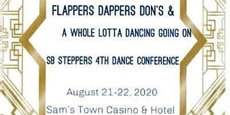 SB Steppers Flappers & Dapper Dons 4th Dance Conference tickets