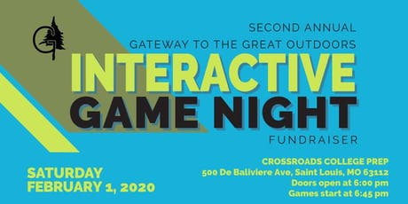 The 2nd Annual GGO Interactive Game Night tickets