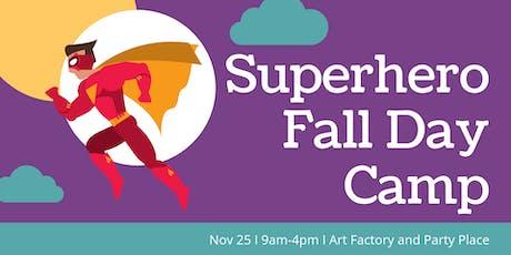 Fall Day Camp - Superhero tickets