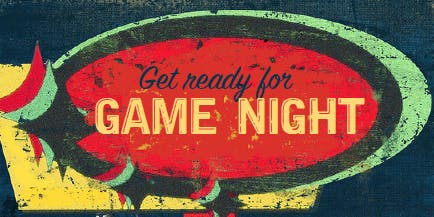 GAME NIGHT: A Fundraiser for the Station Arts Centre