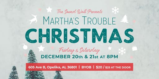 A Martha's Trouble Christmas 2019