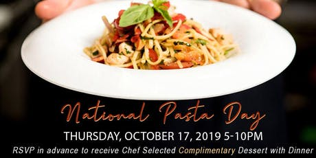 National Pasta Day at Sette Bello tickets