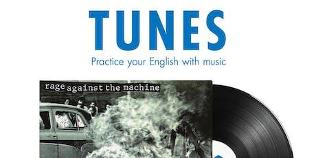 Tunes: Taller de conversación en inglés sobre música entradas